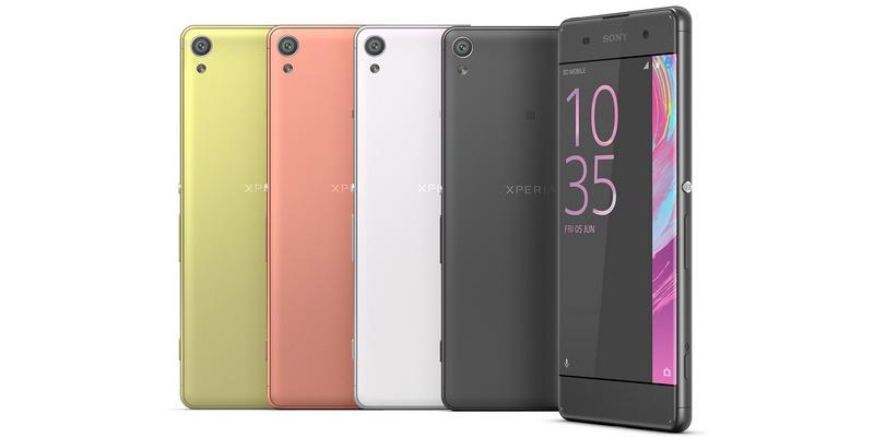 Обзор Sony Xperia XA: безрамочный и недорогой>