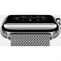 Apple Watch 42mm Stainless Steel Case with Milanese Loop (MJ3Y2)