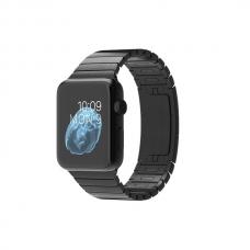Apple Watch 42mm Space Black Stainless Steel Case with Space Black Stainless Steel Link Bracelet (MJ482)