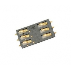 Контакты сим-карты (SIM card socket pins) для iPhone 3G/3GS/2G