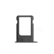 Держатель сим (SIM card holder tray) для iPhone 5S grey