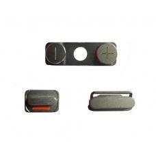 Комплект кнопок вкл/выкл, громкости (Side buttons set) для iPhone 4G copy