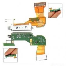 Шлейф с разъемом зарядки (Charger flex cable) для iPhone 3G white orig