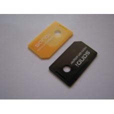 Адаптер с microSIM на SIM карту (SIM card adapter) SANDI