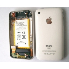 Задняя крышка в сборе (Case assembly) для iPhone 3GS white high copy
