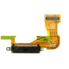 Шлейф с разъемом зарядки (Charger flex cable) для iPhone 3GS black
