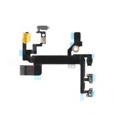 Шлейф кнопки включения и боковых кнопок (Power and side buttons flex cable) iPhone 5S orig