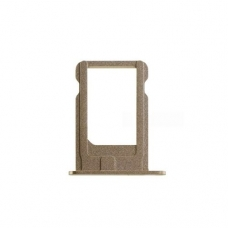 Держатель сим (SIM card holder tray) для iPhone 5S gold