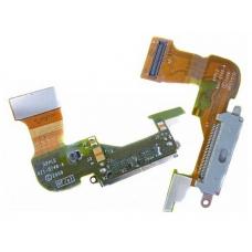 Шлейф с разъемом зарядки (Charger flex cable) для iPhone 3GS white