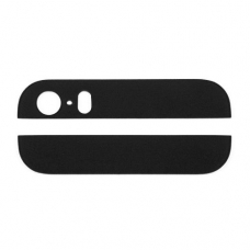 Верхняя+нижняя панель корпуса (Top&Bottom glass cover replacement) для iPhone 5 black