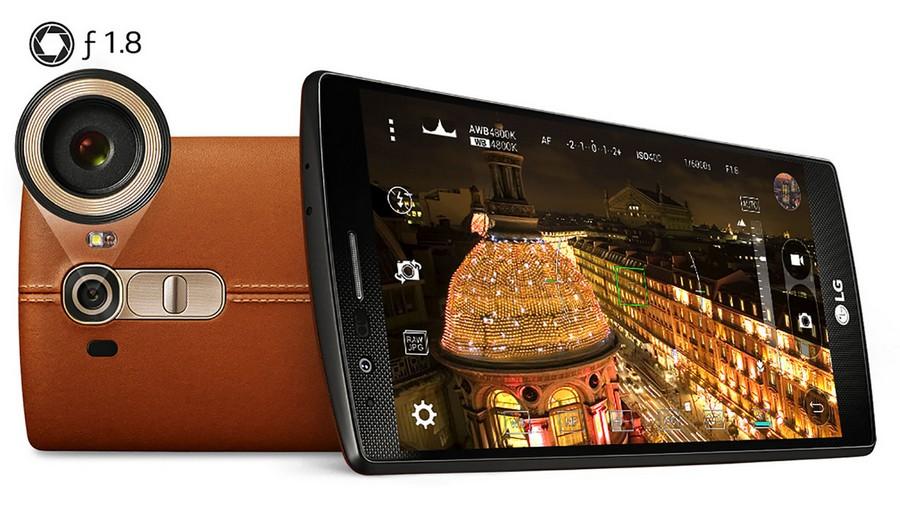 LG G4 камера