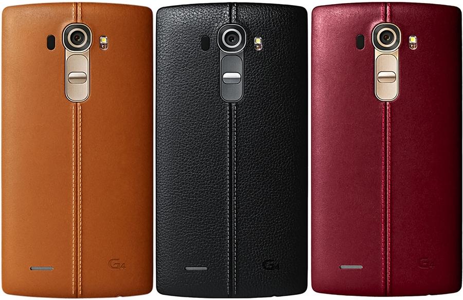 LG G4 задняя крышка